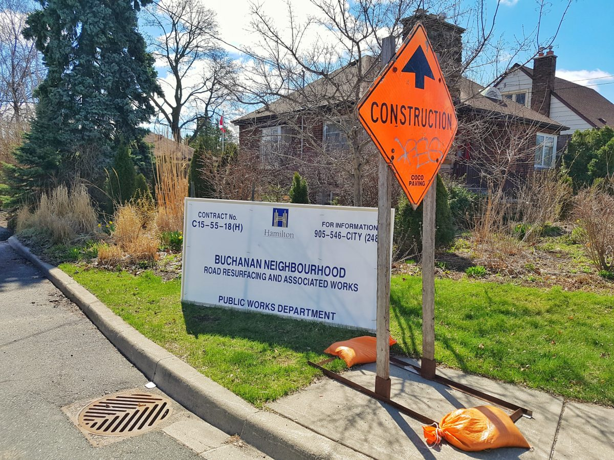 Buchanan Neighbourhood: 2019 Road Construction Spring Update