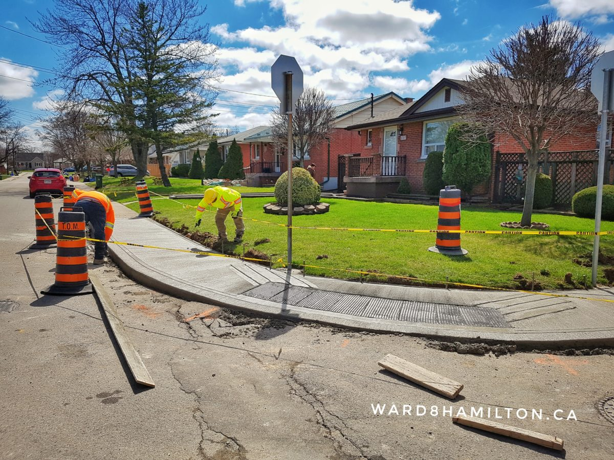 $68k Committed to Improve Ward 8 Sidewalks