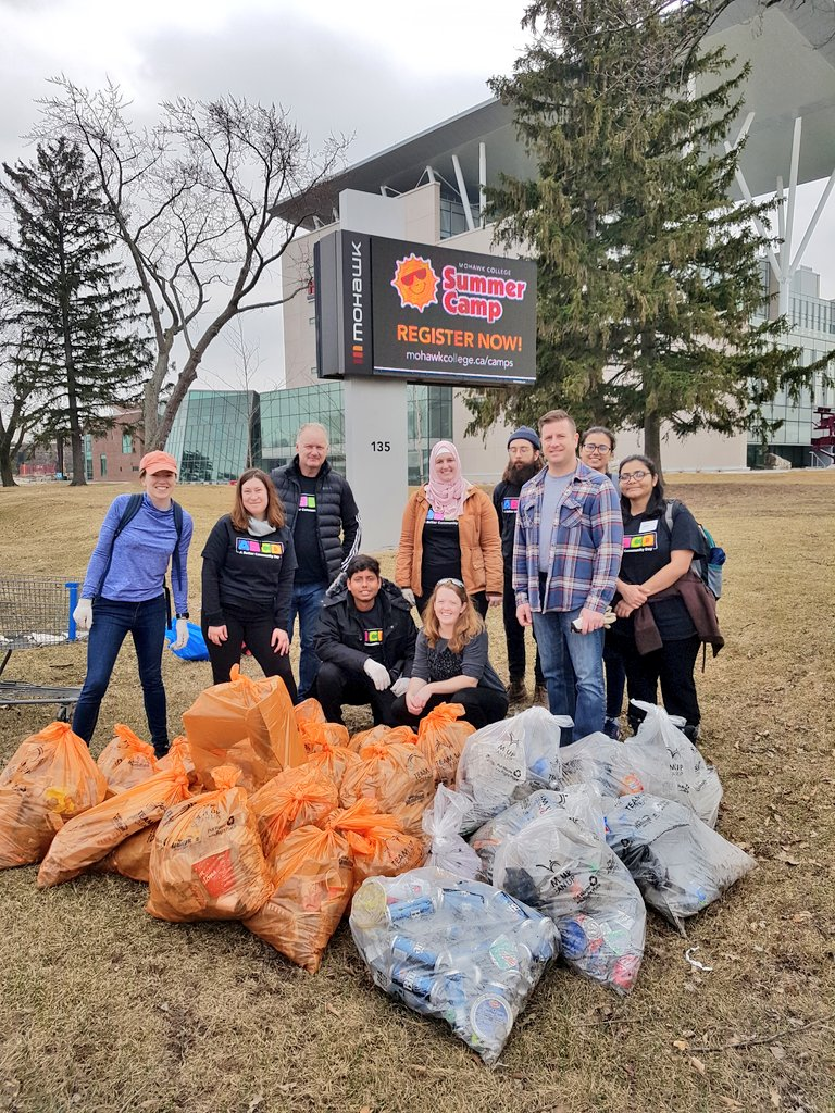 Spring Cleanup With Mohawk College