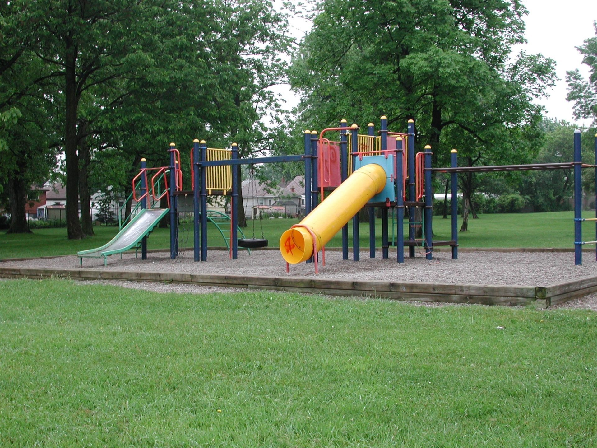 Sample image of the bruce park play equipment