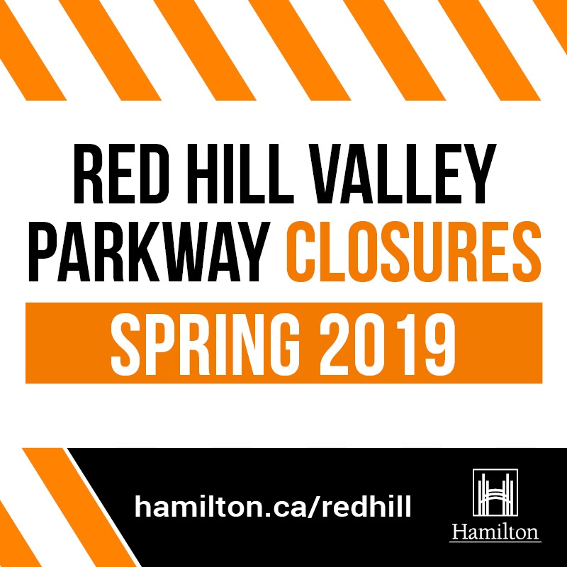 Red Hill Valley Parkway Construction Update Spring 2019