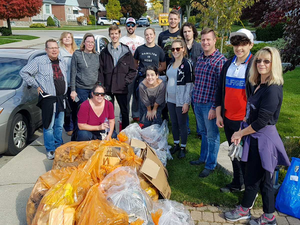 Neighbourhood Cleanup With The Bonnington Betterment Community