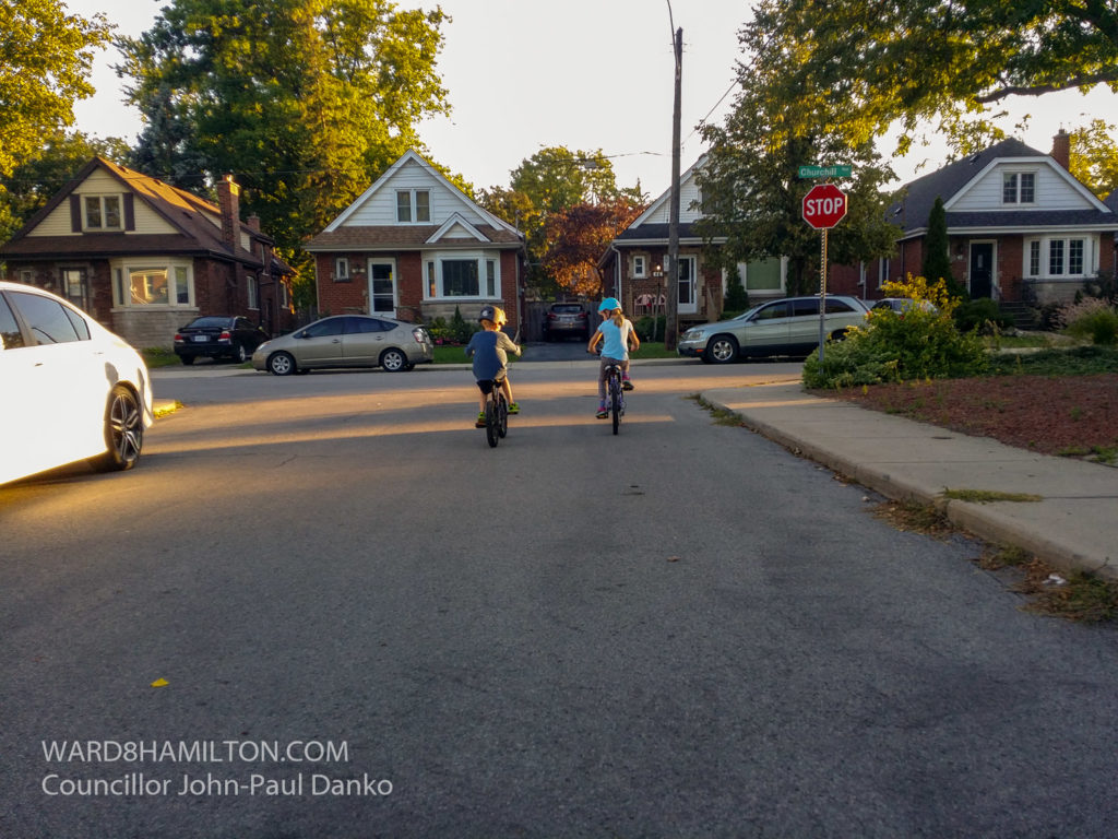 City of Hamilton Cycling 1m Passing Law