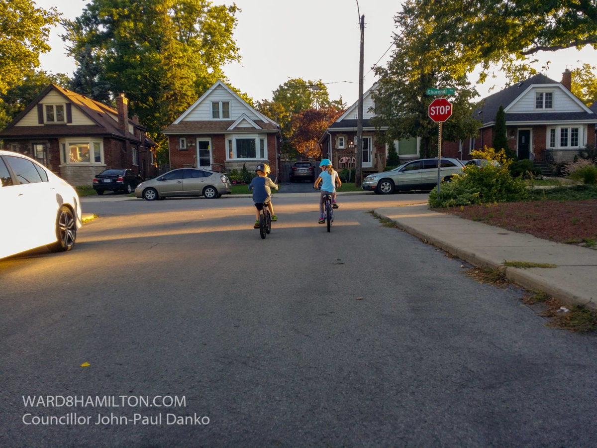 Ward 8 Councillor John-Paul Danko Leads to Protect Cyclists & Educate Drivers