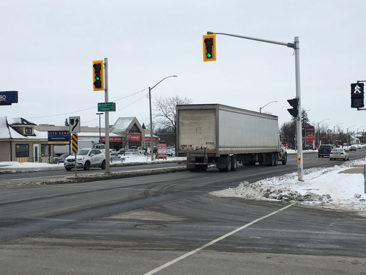 Second Public Information Centre to be for Truck Route Master Plan Review