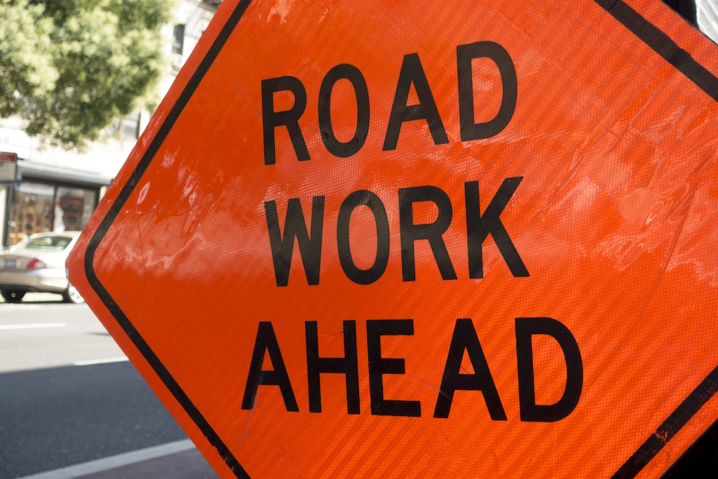 Lane restrictions on downbound Claremont lanes to start on Wednesday