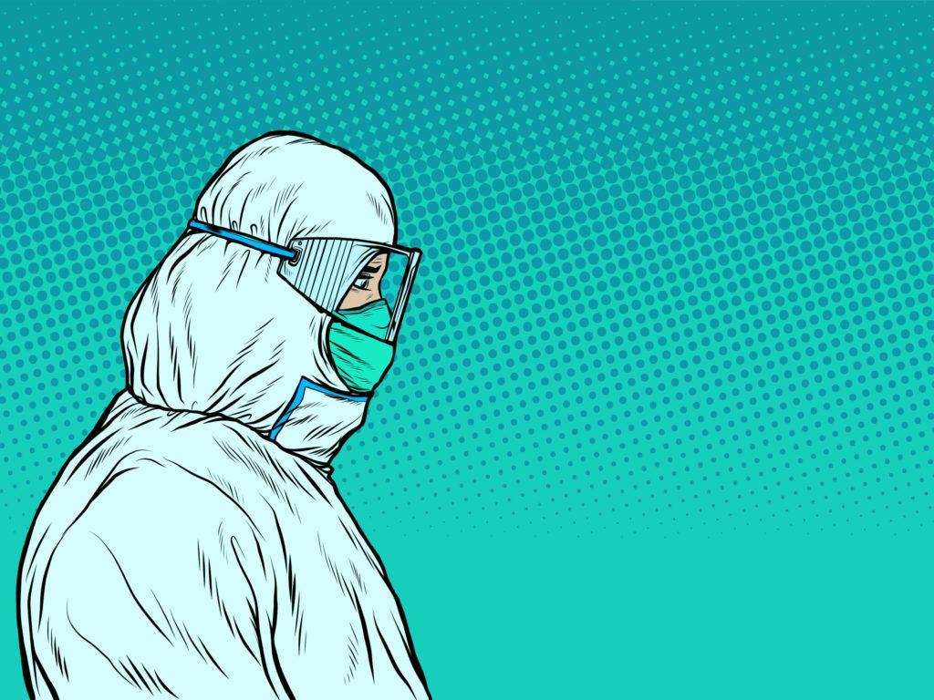 Frontline healthcare worker