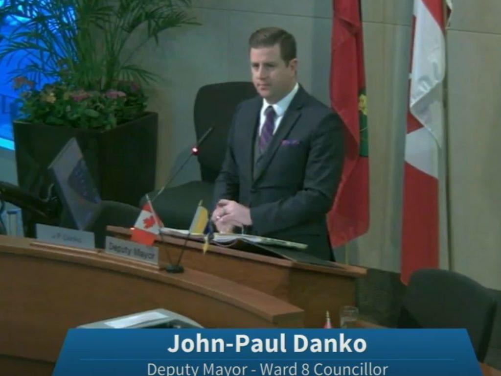 John-Paul Danko Deputy Mayor