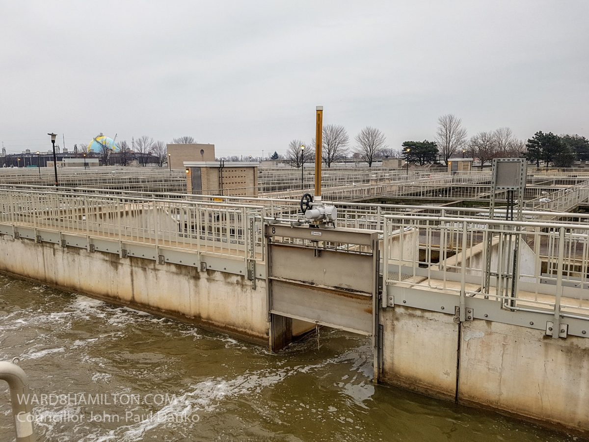 May 18: Woodward Wastewater Treatment Plant currently bypassing