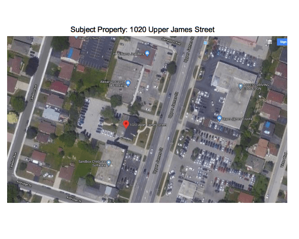 Reminder: Community Open House Webinar on 1020 Upper James redevelopment to take place May 7