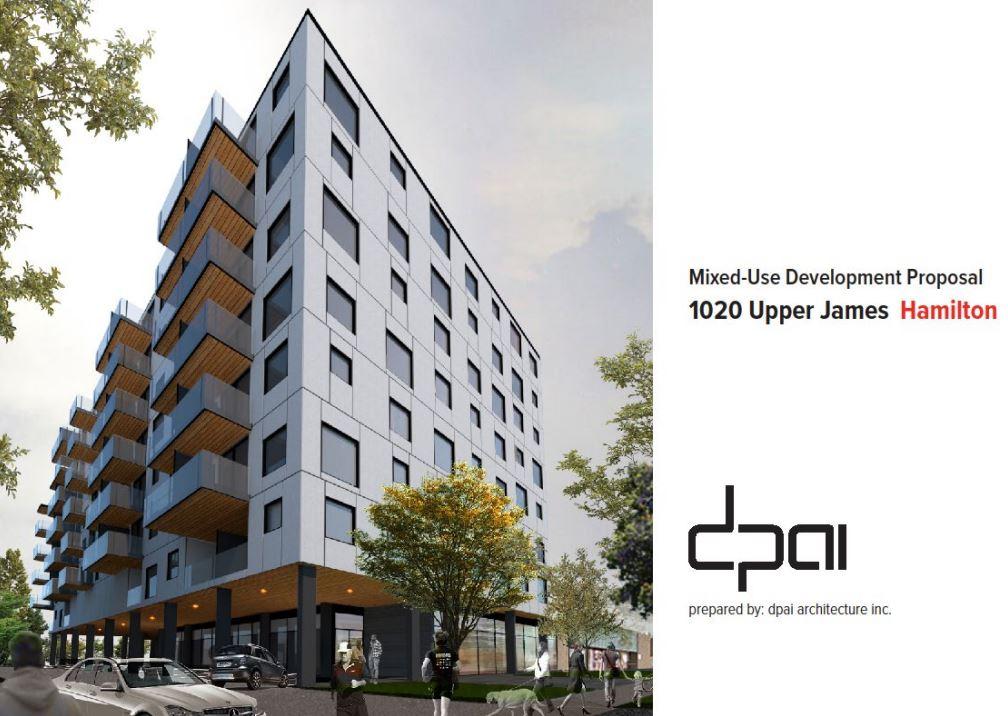 1020 Upper James Development Update