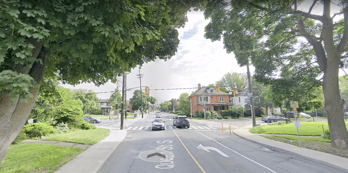 Queen St. S two-way conversion takes effect September 9