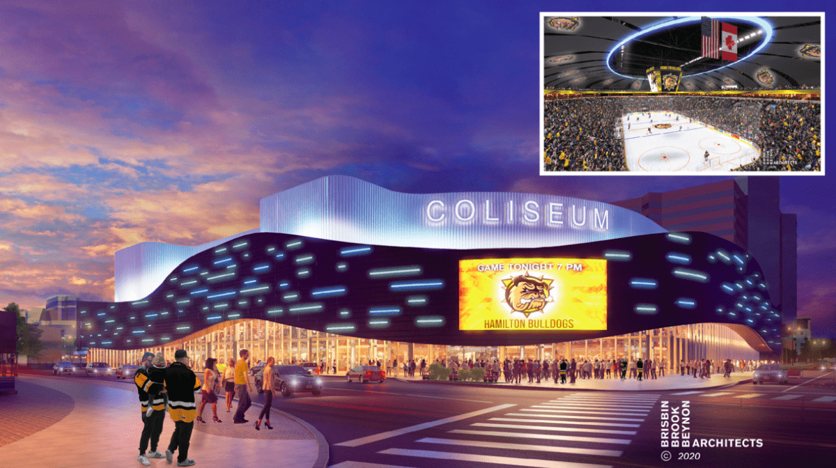 $500 million dollar plan selected for City's entertainment and sports facilities