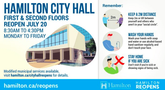 July 14: Phase Two updates and City Hall reopening