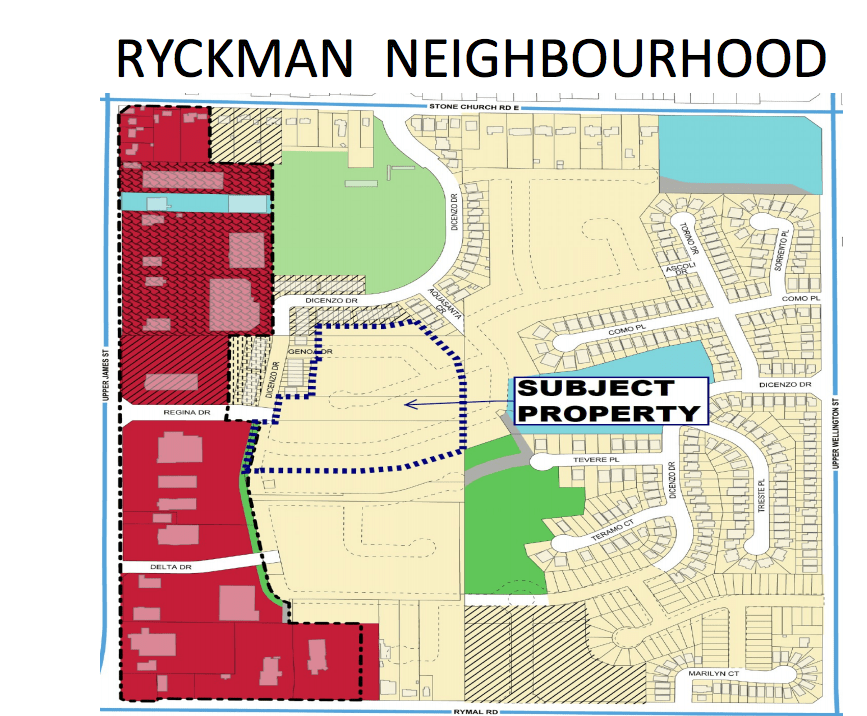 150 new residential units slated for Ryckman Neighbourhood