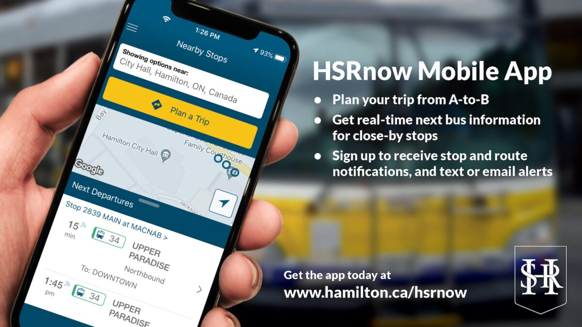 HSR launches new mobile app