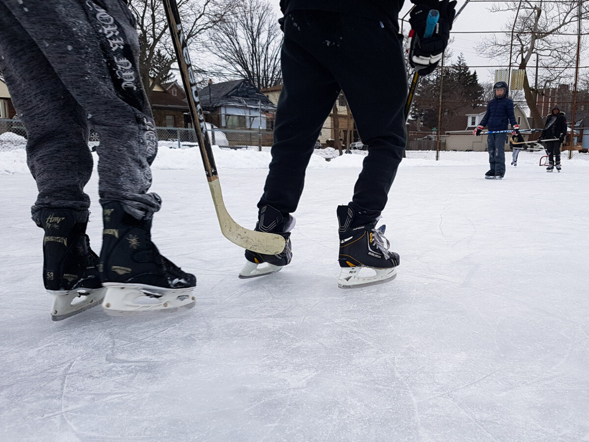 Keeping the Fun Going this Winter at Bruce Park
