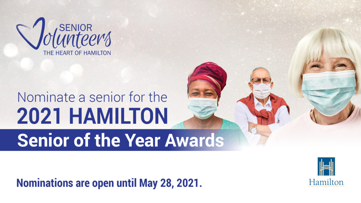 Nominations are online for the 2021 Senior of the Year Awards