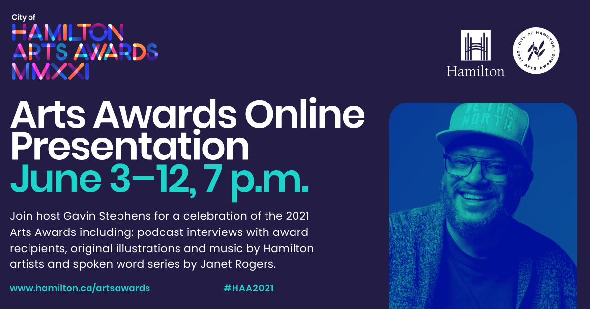2021 Arts Awards virtual presentations taking place in June