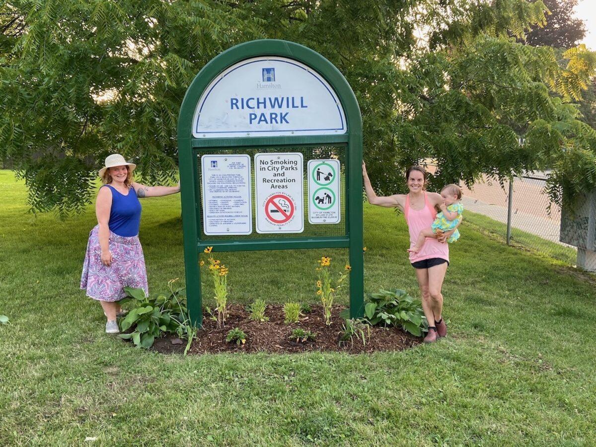 Bonnington Betterment Community adopting Richwill Park