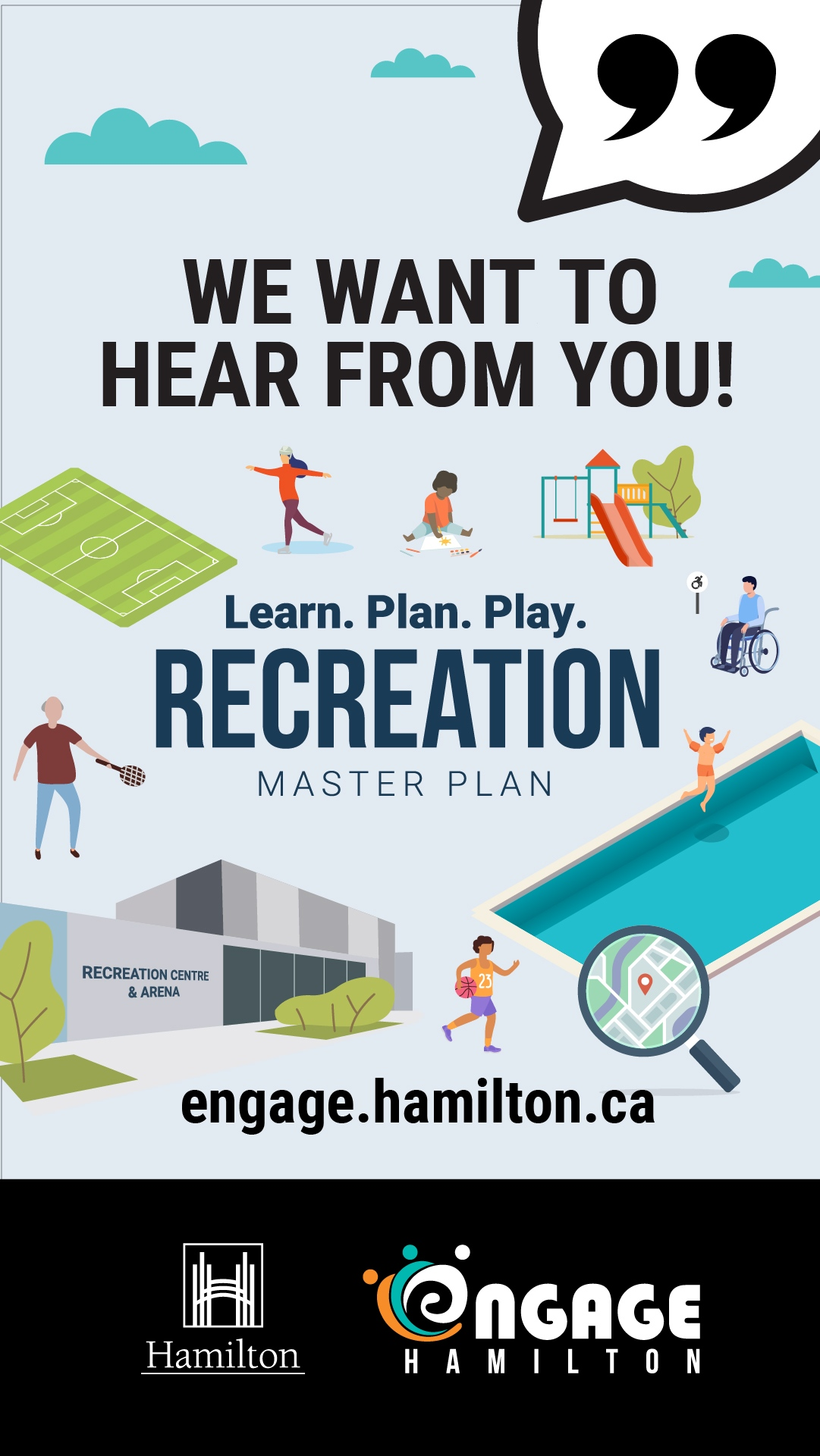 Have your say in the Recreation Master Plan