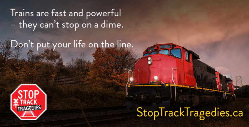 Stay off the tracks! City of Hamilton reminding residents to be cautious during Rail Safety Week